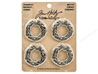 Tim Holtz Idea-ology Adornments Wreaths Picture