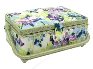 Saint Jane: St Jane Sewing Baskets Small Rectangle Floral