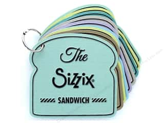 dies: Sizzix The Sizzix Sandwich Booklet