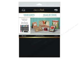 foil: iCraft Deco Foil Toner Sheet 8 1/2 x 11 in. 3 pc.
