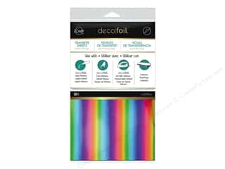 foil: iCraft Deco Foil Sheet 6 x 12 in. 20 pc. Rainbow