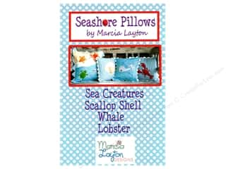Marcia Layton Designs Seashore Pillows Pattern