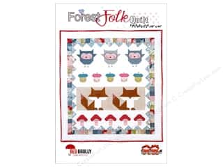 Simple Stories: Red Brolly Forest Folk Quilt Pattern
