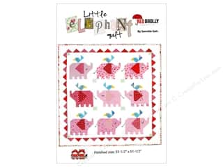 Red Brolly Little Elephant Quilt Pattern Picture