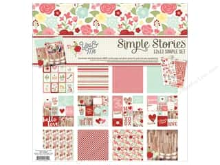Everything You Love Sale Scrapbooking: Simple Stories 12 x 12 in. Collection Kit You & Me