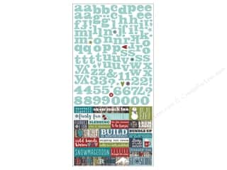 Simple Stories: Simple Stories Stickers 6 x 12 in. Snow Patrol Expressions (12 sets)