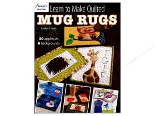 books & patterns: Learn To Make Quilted Mug Rugs Book by Carolyn Vagts
