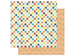 Echo Park 12 x 12 in. Paper Little Man Collection Dots (25 sheets)