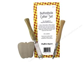 Gingham Square Buttonhole Cutter Set 3pc
