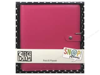 binders: Simple Stories Collection Carpe Diem Snap A5 Planner Pink