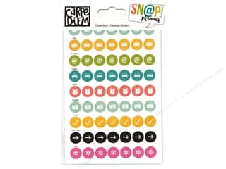 Simple Stories: Simple Stories Collection Carpe Diem Snap Sticker Calendar