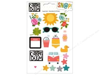 Simple Stories Collection Carpe Diem Snap Sticker Illustrated Life Picture