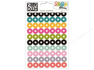 Simple Stories: Simple Stories Collection Carpe Diem Snap Sticker Hole Reinforcer
