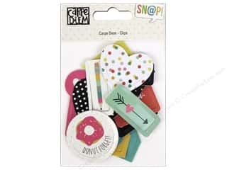 resin: Simple Stories Collection Carpe Diem Snap Clips