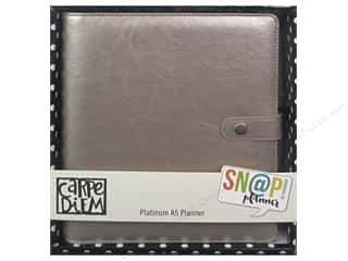 binders: Simple Stories Collection Carpe Diem Snap A5 Planner Platinum