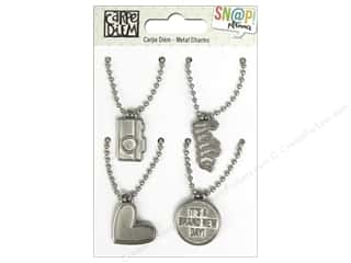 Simple Stories: Simple Stories Collection Carpe Diem Snap Metal Charms