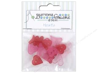 sewing & quilting: Buttons Galore Theme Button Clear Hearts