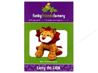 Funky Friends Factory Larry The Lion Pattern Picture