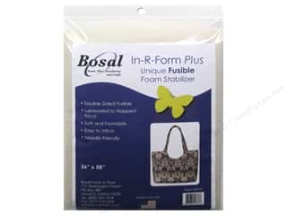 Bosal In-R-Form Plus Fusible Foam Stabilizer 36 x 58 in. Double Sided White
