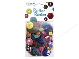novelties: Buttons Galore Button Candy Bags 5.5 oz. Brights Mix