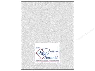 Cardstock 8 1/2 x 11 in. #5101 Glitz Silver/Fairy Dust by Paper Accents 5 pc. Picture