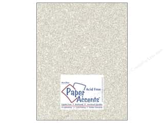 Cardstock 8 1/2 x 11 in. #5102 Glitz Silver/Champagne by Paper Accents 5 pc. Picture