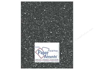 Cardstock 8 1/2 x 11 in. #5118 Glitz Silver/Midnight by Paper Accents 5 pc. Picture