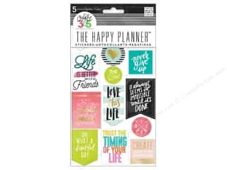 scrapbooking & paper crafts: Me&My Big Ideas Happy Planner Sticker Life Quotes