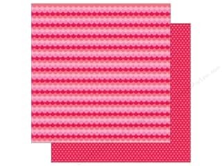 Doodlebug: Doodlebug Paper 12 x 12 in. Sweet Things Sweetheart Scallop (25 sheets)
