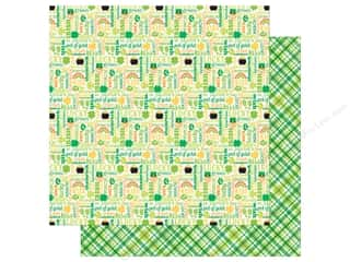 St. Patrick's Day: Doodlebug Paper 12 x 12 in. Pot O Gold Good Luck (25 sheets)