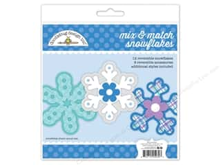scrapbooking & paper crafts: Doodlebug Craft Kit Polar Pals Snowflake