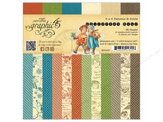 Weekly Specials Graphic 45 Paper Pad: Graphic 45 6 x 6 in. Paper Pad Children's Hour Patterns & Solids