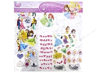 stickers: SandyLion 12 x 12 in. Page Kit Disney Princess