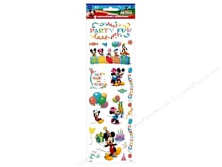 scrapbooking & paper crafts: SandyLion Sticker Clear Disney Mickey Party