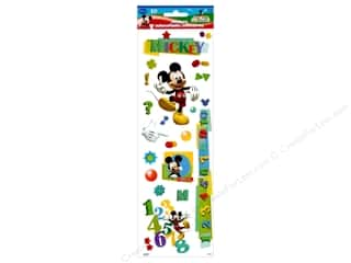 scrapbooking & paper crafts: SandyLion Sticker Disney Mickey Embossed
