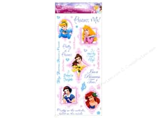 SandyLion Sticker Clear Disney Princess Phrase