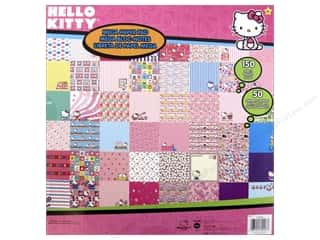 Holiday Sale Printed Cardstock: SandyLion Paper Pad Hello Kitty Mega