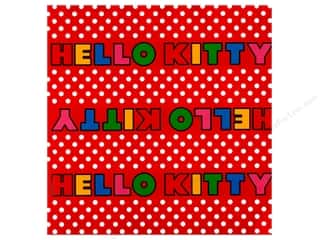 SandyLion 12 x 12 in. Paper Hello Kitty Titles