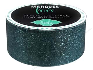 Heidi Swapp Marquee Love Glitter Tape 7/8 in. Teal