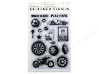 scrapbooking & paper crafts: Carta Bella Designer Stamps Work Hard Play Hard