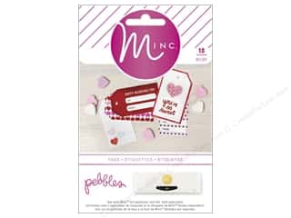 twine: Pebbles Collection Be Mine MINC Tags