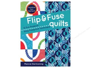 Flip & Fuse Quilts Book by Marcia Harmening