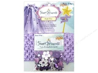 beading & jewelry making supplies: Jesse James Kit Inner Princess Purple Pixie