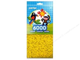 craft & hobbies: Perler Beads 6000 pc. Yellow