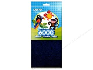 beading & jewelry making supplies: Perler Beads 6000 pc. Dark Blue