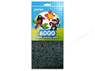 beading & jewelry making supplies: Perler Beads 6000 pc. Grey