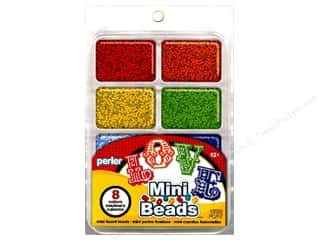 beading & jewelry making supplies: Perler Mini Bead 8000 pc. Rainbow Assorted Colors Tray