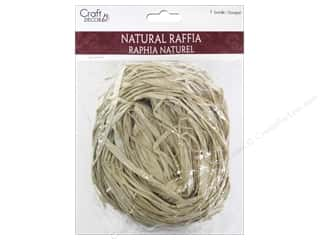 craft & hobbies: Mulitcraft Embellishments Raffia 2oz Natural