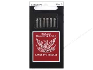Richard Hemming Quilting/Betweens Needles Size 5 20 pc.