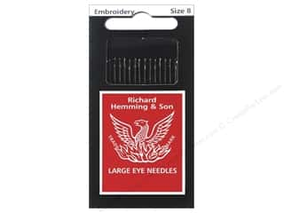 Hemming Needle Crewel/Embroidery Size 8 15pc